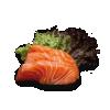 81. Sake Sashimi